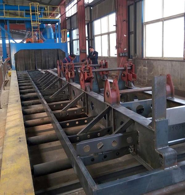 工程钢结构抛丸