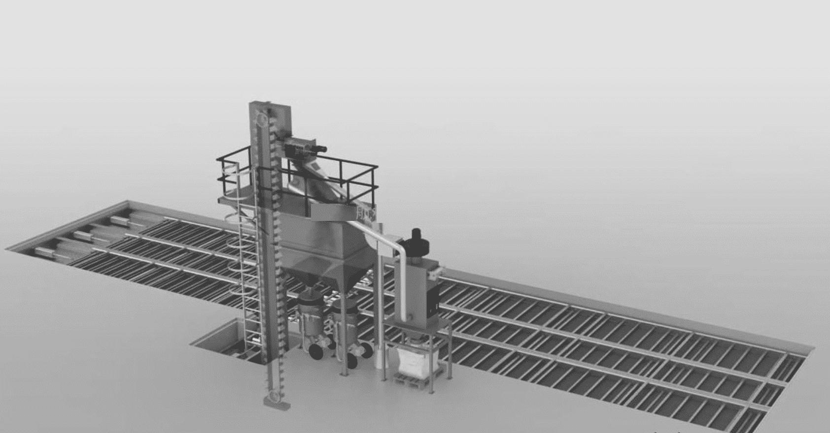 伸缩喷砂房喷砂功能设计图